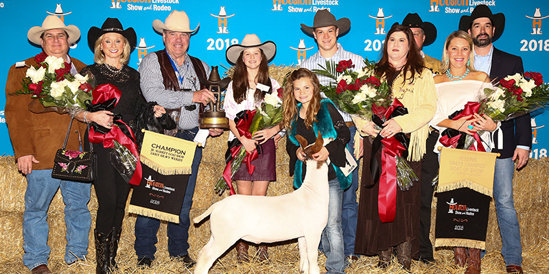 Res Grand Champion Goat